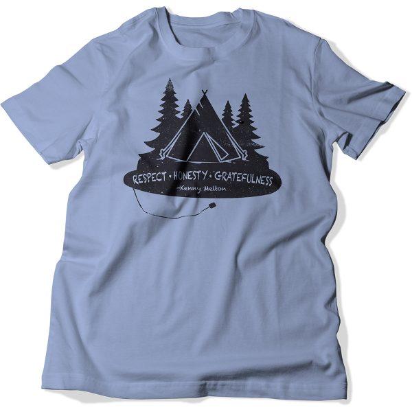 T-Shirt's for Scholarships - Adult Light Blue