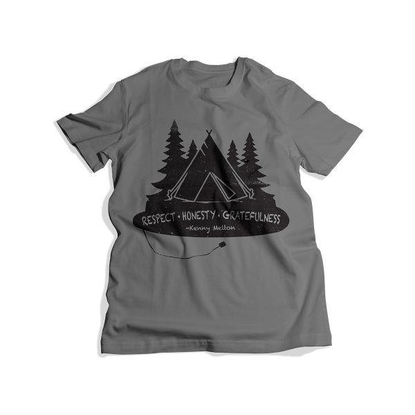 T-Shirt's for Scholarships - Youth Gray